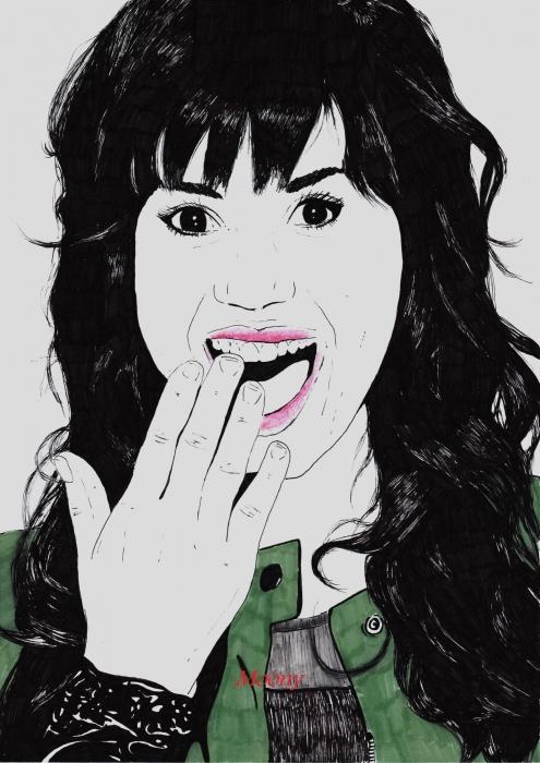 Demi Lovato by Moony36